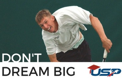 How a Division 3 Tennis Player Became Big By Dreaming Small