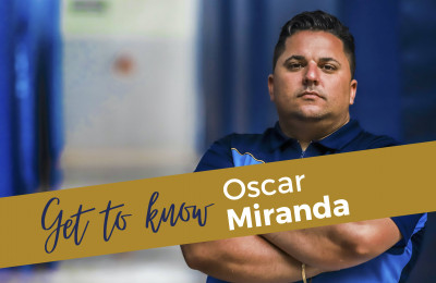 Get to know Oscar Miranda