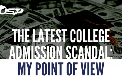 The latest College Admission Scandal: My Point of View