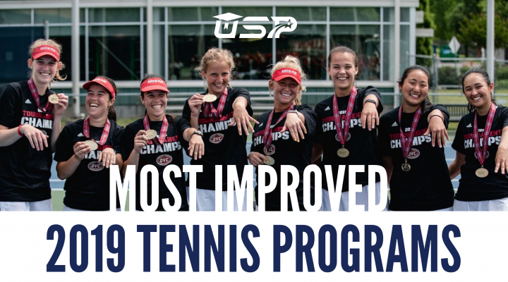Most Improved 2019 NCAA D1 Tennis Programs | University Sports Program