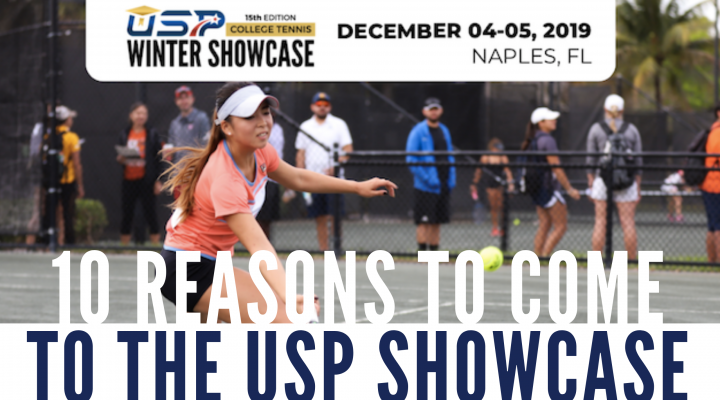 TOP REASONS TO PARTICIPATE IN THE USP WINTER SHOWCASE