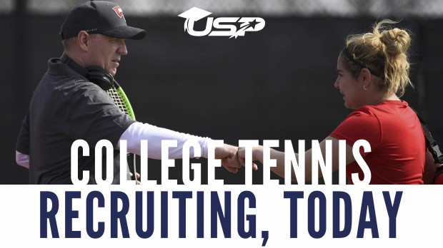COLLEGE TENNIS RECRUITING, TODAY